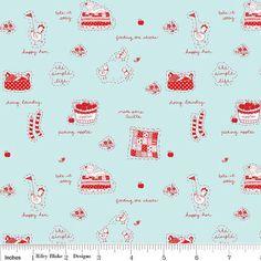Love at 1st sight for me! Simple Life in Aqua by Tasha Noel for Riley Blake Designs http://etsy.me/17lpAPL via @Etsy $9.95
