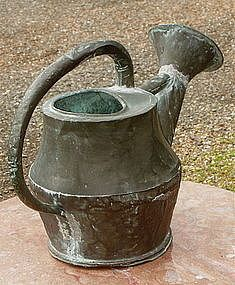 1800 watering cans | Hand hammered copper watering can French or English (item #778555)