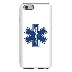 EMS EMT Rescue Logo iPhone 6 Tough