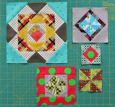 Jaffa quilts: Gypsy Wife {progress}