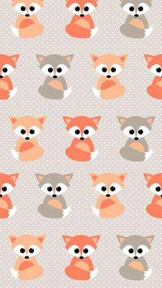 darling little fox drawings