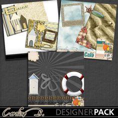 Beach Bundle - $2.99 : Caroline B., My Magic World of Digital Design