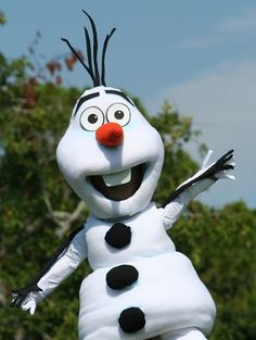 Olaf costume pattern and directions