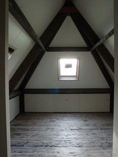 slaapkamer met een schuin dak - Google zoeken