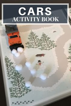 My kids love playing with cars, trucks, emergency vehicles and construction vehicles!  Any type of transportation and it is a dream come true for them.  This interactive activity book for cars is such a huge hit.  We can take it on roadtrips, on the airplane, to the doctor's office and even play with it during playtime and quite time at home.