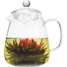 Primula 36 oz Layla Glass Teapot w/Loose Leaf Glass Infuser and 2 Flowering Teas Loose Tea Infuser, Tea Riffic, Perfect Cup Of Tea, Glass Teapot, Tea Pot Set, Flower Tea, Tea Cups, Bloom, Teapots