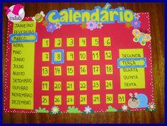EDUCAÇÃO INFANTIL CRIATIVA: Modelo de calendário para Educação Infantil