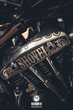 """Shovel"" by Black Jake badass custom motorcycles —  choppers, cycles, Harley, modified #harleydavidsoncustom"