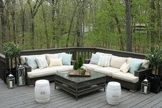 Mesmerizing Restoration Hardware Outdoor Pillows Concepts : Inspiring Rattan Sofa With Restoration Hardware Outdoor Pillows Ideas Patio Furniture Cushions, Balcony Furniture, Patio Chairs, Outdoor Furniture, Patio Bench, Patio Table, Living Furniture, Outdoor Sofa, Outdoor Chair Cushions