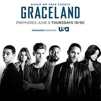 USA Network and Entertainment Weekly invite you to an exclusive advance screening of USA's new original series Graceland on Wednesday May 29th • 7:30/6:30c. Followed by a LIVE Q with the cast via satellite from historic Studio 8H in Rockefeller Center.