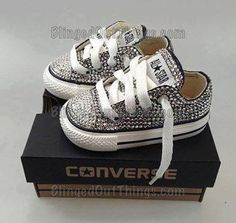 Soulier diamant converse
