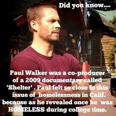Paul Walker was not only a heartthrob. Many people has known that he was also deeply involved in charity work and was passioned about carrying relief ... - Dominika Parada (@mika_pw_love)