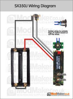 series battery mosfet wiring diagram box mods pinterest vape rh pinterest com
