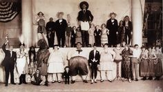 The Congress of Freaks, Ringling Brothers and Barnum Bailey Circus, 1924