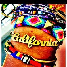 California bracelet? Yeah, I want one. I'll always be a Cali girl!