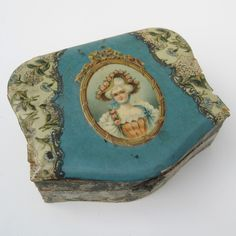Celluloid Jewelry | Antique Victorian Celluloid Vanity Table Dresser Jewelry Trinket ...