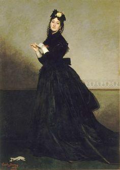 1869 Mme Carolus-Duran, née Pauline Croizette - Carolus-Duran - Wikipedia, the free encyclopedia