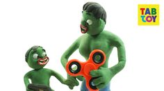 Bad Baby Hulk Fidget Spinner skill w/ Superhero In Real Life Stop motion Play Doh Movies https://www.youtube.com/watch?v=tw7nG4oyniA #fidgetspinner #spinner #animation #stopmotion #cartoon #kids #