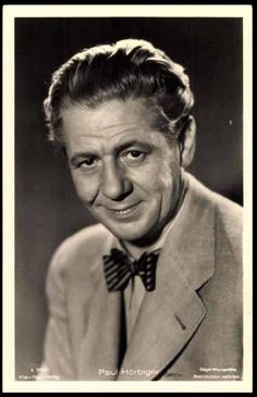 Paul Hörbiger(*29. April1894inBudapest,Österreich-Ungarn; †5. März1981inWien) war einösterreichischerSchauspieler.