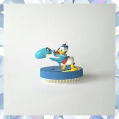 Vintage Donald Duck Nail Scrub. Disney by DiamondDuckVintage on Etsy. Vintage Donald Duck Nail Scrub. Disney Bathroom. Vintage Disney. Vintage Donald Duck. Vintage Home decor.