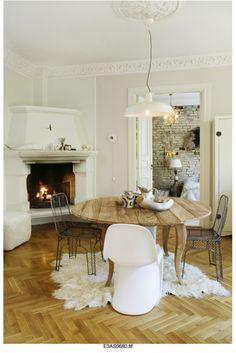 Love a good parquet floor