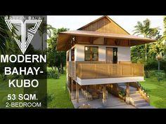Modern Filipino House, Modern Zen House, Modern Wooden House, Modern Tropical House, Wooden House Design, Bamboo House Design, Tropical House Design, Small Wooden House, Small House Design
