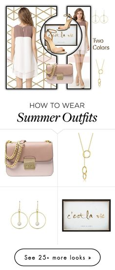 """""""Two colors!!"""" by beleev on Polyvore featuring Liva Girl, Graham & Brown and Michael Kors"""