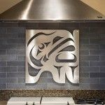 @Cheryl McCormick First Nations-inspired wall decoration by Sabina Hill