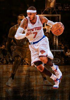 Carmelo Anthony Is Back #NYK