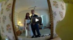 Awesome wedding idea: Hide a GoPro camera in your bridal bouquet!