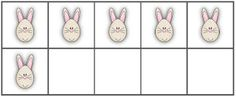 Classroom Freebies: Ten-Frames for Easter