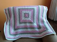 Granny Square Baby Blanket - pinned by pin4etsy.com