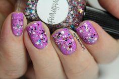 Lynnderella Pentimento and Sation Love At First Lavender