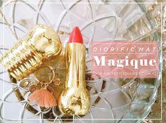 DIOR DIORIFIC LIPSTICK MAT REVIEW :  http://www.petitediaries.com/2017/11/falling-for-dior-diorific-mat-lipstick.html #dior #Magique #dior #review #beautyblogger #mattelipstick