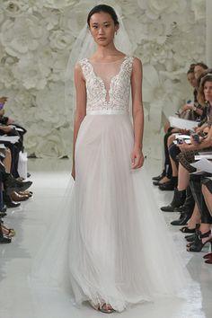6c03637c9738 50 best Satin Wedding Dresses images | Classic wedding dress ...