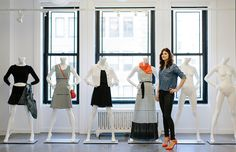 "What Advice Would You Give To Your 23-Year-Old Self?: ""I'm not sure I would tell her to do anything different. I'm pretty happy with how my career has turned out so far, and if I tried to tweak it, I'd probably screw it up for her. She figured it out okay."" --Melody Rains, Design Director for Express // photography by Yoon Kim"