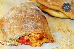 pita-skepasti-kotopoylou Greek Recipes, Yummy Recipes, Cheddar, Turkey, Pizza, Yummy Food, Bread, Kitchen, Kos