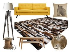 """""""Rustic feel"""" by immar on Polyvore featuring interior, interiors, interior design, home, home decor, interior decorating, Uttermost, Pine Cone Hill, Dot & Bo and rustic"""