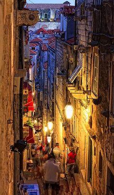 Streets in Dubrovnik