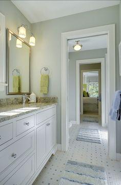 Magnolia   Traditional   Bathroom   Charleston   Shoreline Construction And  Development | The Girlsu0027 Bathroom | Pinterest | Traditional Bathroom, ...