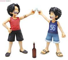 [close]  Excellent Model Portrait.Of.Pirates One Piece CB-EX Luffy & Ace -Brotherly Bonds- (PVC Figure) Item picture4