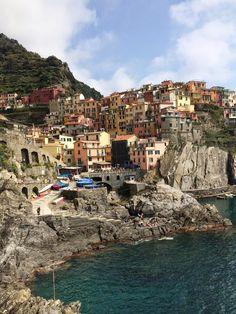 Italia <3 Cinque Terren ihanat pienet kylät