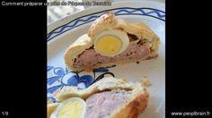 Comment préparer un pâté de Pâques de Touraine. Faîtes cuire les oeufs dans une casserole d'eau salée pendant 10 min pour obtenir des oeufs durs. Ecaillez-les… La recette complète: http://www.peoplbrain.fr/tutoriaux/cuisines/preparer-un-pate-de-paques-de-touraine