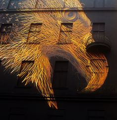 Muralist Paints Majestic Eagle on a Berlin Building - My Modern Met