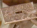 How to make copper light switch plates. Very cool.  HomeEnvy - Season 2: Project #36 Mission embossible