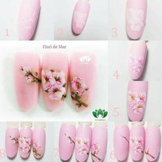 80 ideas to create the best Halloween nail decoration - My Nails Flower Nail Designs, Short Nail Designs, Flower Nail Art, Nail Designs Spring, Gel Nail Designs, Nail Art For Beginners, Latest Nail Art, Nail Decorations, Nail Tutorials
