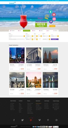 Travel Agency Web Design 2