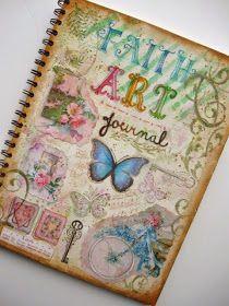 A Palette Full of Blessings: Faith Art Journal Cover