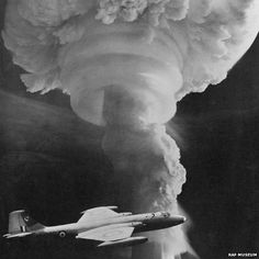 In 1958, RAF Canberras were involved in monitoring nuclear tests in Narralinga South Australia.