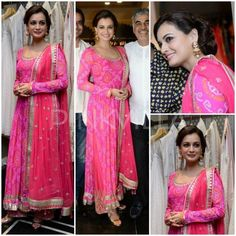 Yay or Nay : Dia Mirza in Anita Dongre